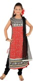 Aarika Self Design Kurta & Churidar (Sti...