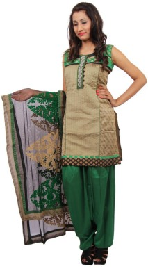 Switchon Embroidered Kurta & Churidar