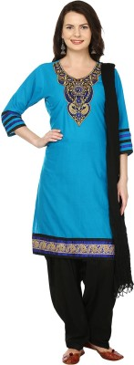 Aavaya Fashion Embroidered Kurti & Patiyala