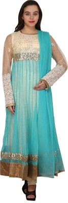 Mannat Collection Embellished Kurta & Churidar