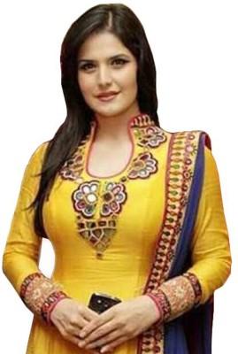 Multi Retail Embroidered, Solid Kurta & Salwar