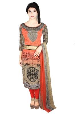 Vandy Crafts Printed Kurta & Churidar