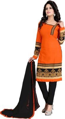S R Fashion Printed Kurti & Salwar(Stitched)