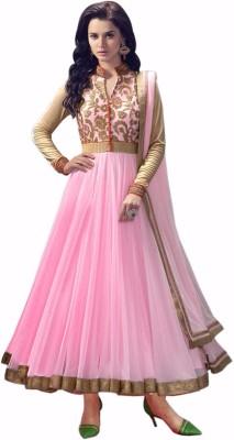 Fidubi Net Embroidered Salwar Suit Dupatta Material