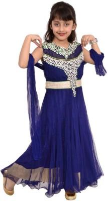 Arshia Fashions Embroidered Kurta & Churidar