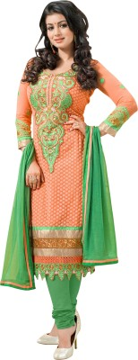 Morli Georgette Embroidered Salwar Suit Dupatta Material