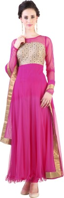 Libas Self Design Kurta & Churidar(Stitched) at flipkart