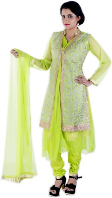 Ruby's Collection Embroidered Kurti & Salwar