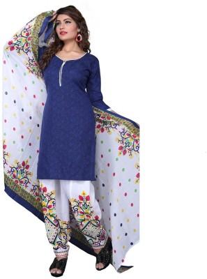 Shree Sai Exports Self Design Kurta & Salwar