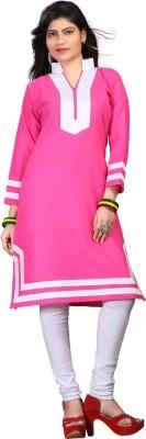 Mohini Fashion Casual Self Design Women's Kurti