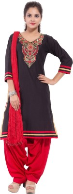 Nisba Fashions Embroidered Kurta & Churidar