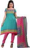 Textilebaba Crepe Printed Salwar Suit Du...