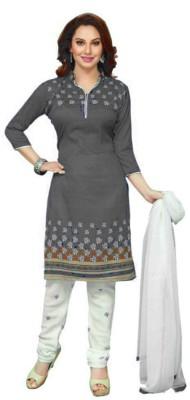 MF Retail Printed Kurta & Salwar(Stitched)