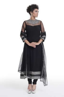 Manjushree Wear Solid, Self Design Kurta & Churidar