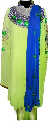 Vogue4all Embroidered Kurta & Churidar