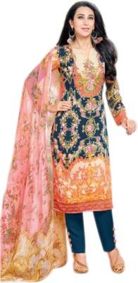 Glitzy Printed Kurta & Salwar