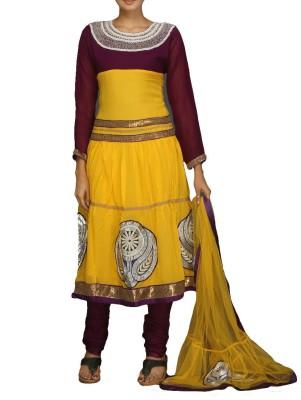 SareesHut Embroidered Kurta & Churidar