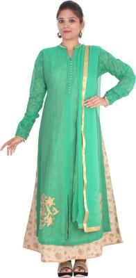 Rasi Silks Self Design Kurti & Salwar