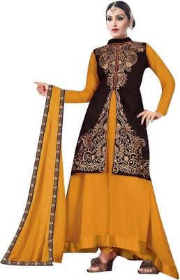 Disha Trendz Embroidered Kurta & Salwar