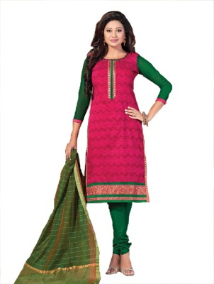 Rudra House Embroidered Kurta & Churidar