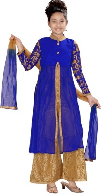 ABHIRA Embroidered Kurta & Churidar