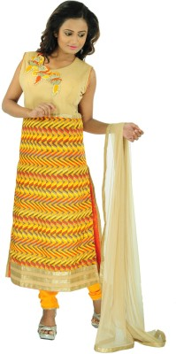 Aarshi Solid, Printed, Embroidered Kurti & Salwar