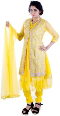 Ruby,s Collection Embroidered Kurti & Salwar