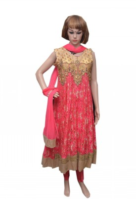 QEEN TRENDS Embroidered Kurta & Salwar