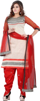 Krishna Emporia Women's Salwar and Dupatta Set
