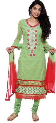 Uma creations Solid, Embroidered, Self Design Kurta & Churidar