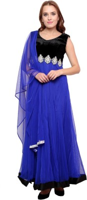 Famous by Payal Kapoor Embroidered Kurta & Churidar(Stitched) at flipkart