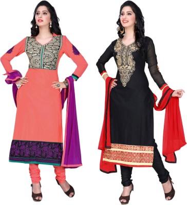 KANNAN Embroidered Kurta & Salwar