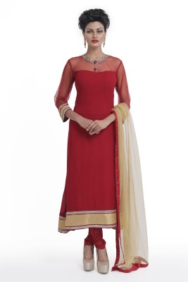 Manjushree Wear Solid Kurta & Churidar