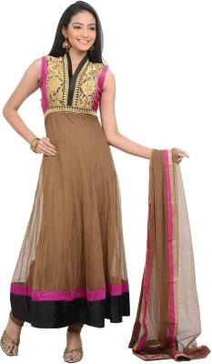 SareesHut Self Design Anarkali Churidar Suit