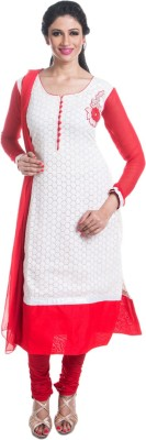 Cynthias Fashion Embroidered Kurta & Churidar