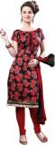 Fabliva Silk Printed Suit Fabric (Un-sti...