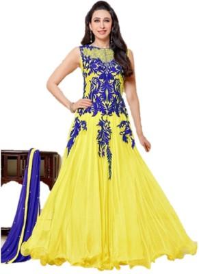 Fashion mart Embroidered Kurti & Salwar