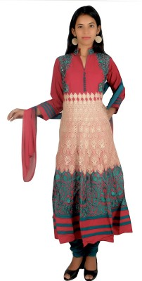 Cizara Embroidered Kurta & Churidar
