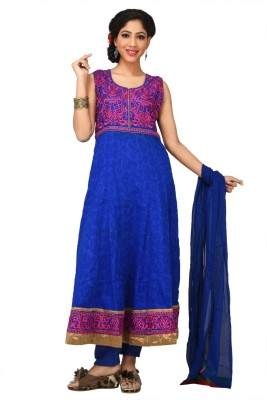 Neha Fashions Embroidered Kurta & Churidar