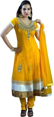 Shubham Fashions Embroidered Kurta & Churidar