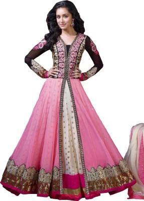 Eleven Creation Net Embroidered Salwar Suit Dupatta Material