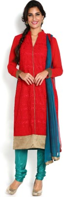 Soch Embroidered Kurta & Churidar