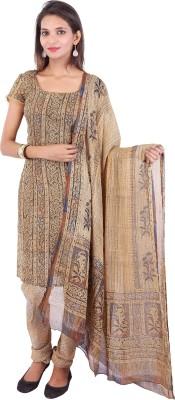Ethnic Oyester Printed Kurta & Churidar