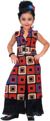 Arshia Fashions Printed Kurta & Pallazo