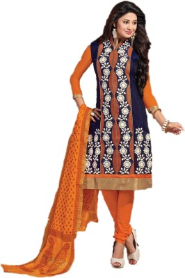 Rudra House Woven, Embroidered Kurti & Salwar