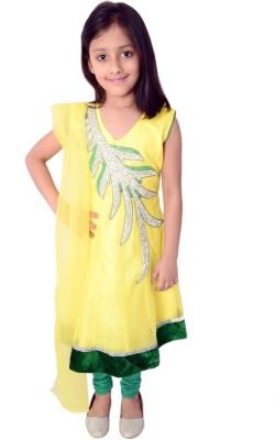 Arshia Fashions Embroidered Kurta & Leggings
