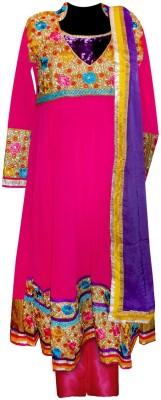 Vogue4all Embroidered Kurti & Salwar