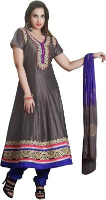 Shubham Fashions Floral Print Kurta & Churidar
