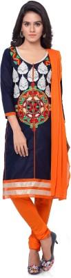 Thankar Embroidered Kurta & Salwar(Stitched)