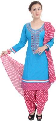 Nisba Fashions Women's Kurti, Patiala and Dupatta Set
